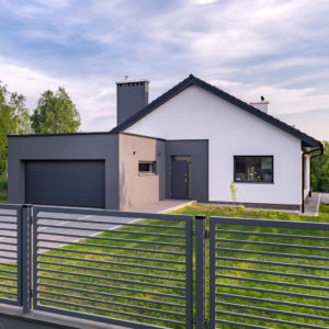 villa-with-fence-and-garage